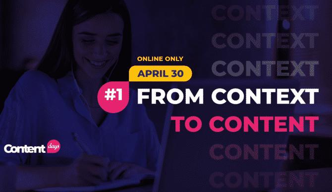 (P) WeContent lansează ContentDays, seria de conferințe online dedicate content-ului